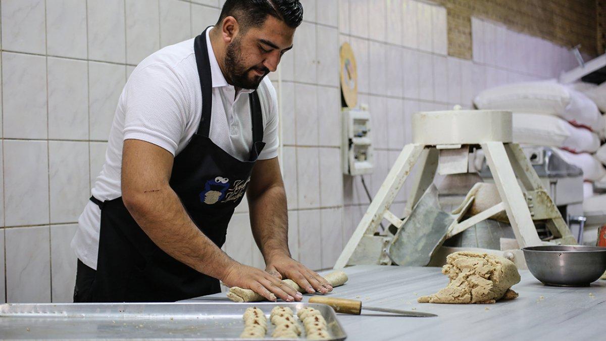 Malatya da kayısı çekirdeğinden kurabiye yok satıyor #3