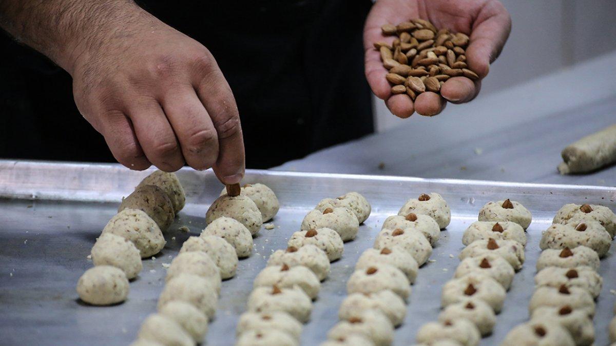 Malatya da kayısı çekirdeğinden kurabiye yok satıyor #1