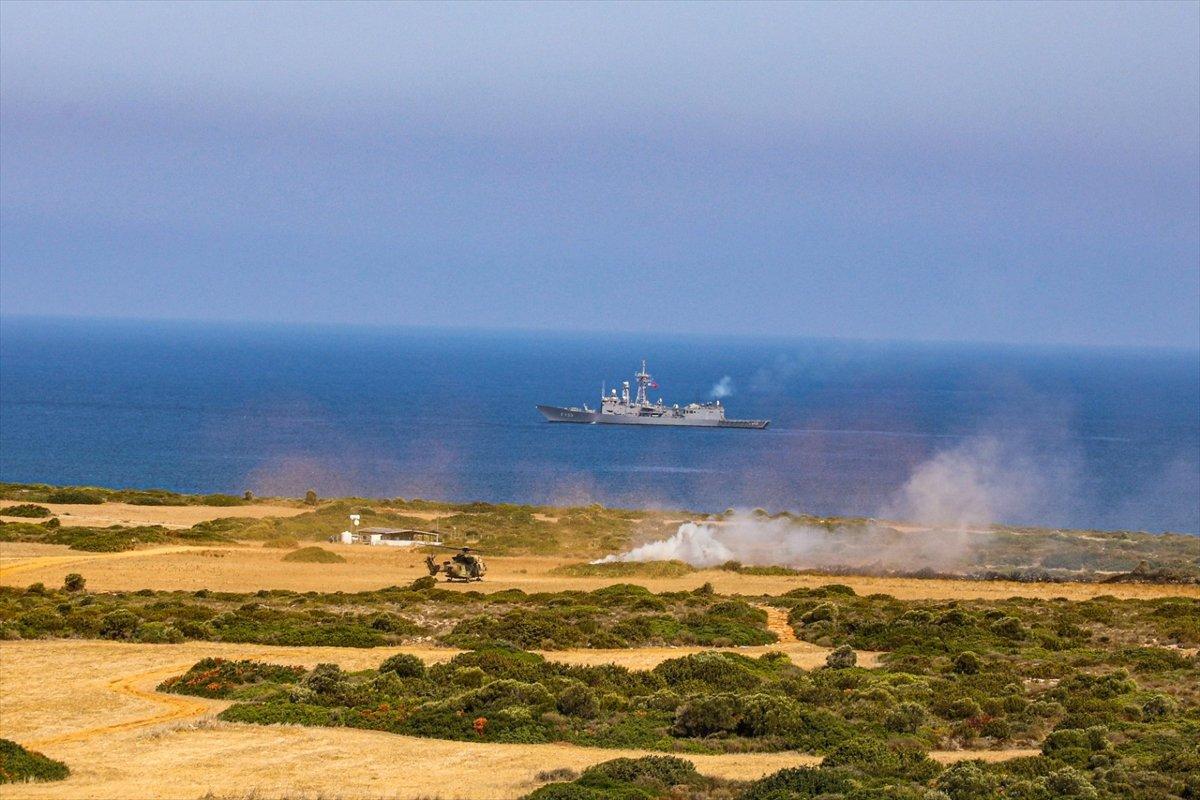 KKTC ile yapılan Akdeniz Fırtınası Tatbikatı tamamlandı  #6