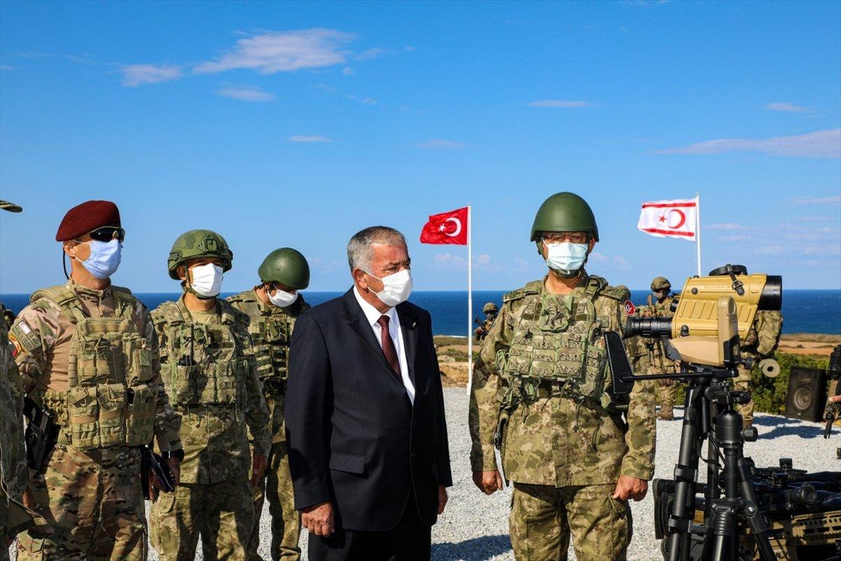 KKTC ile yapılan Akdeniz Fırtınası Tatbikatı tamamlandı  #13