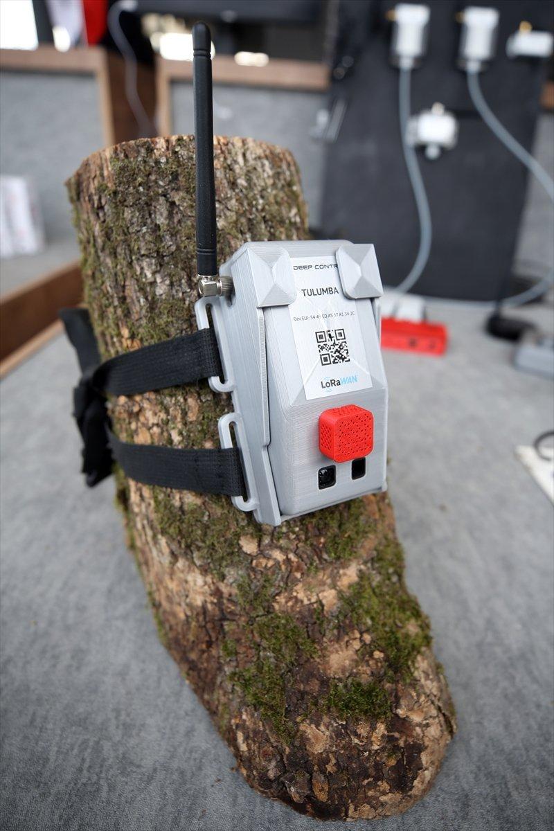 Orman yangınlarına 'Tulumba' ile elektronik takip TEKNOFEST te #3