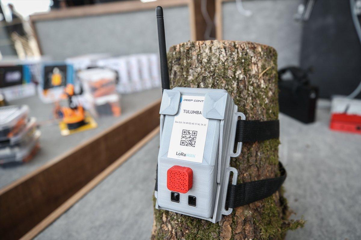 Orman yangınlarına 'Tulumba' ile elektronik takip TEKNOFEST te #2