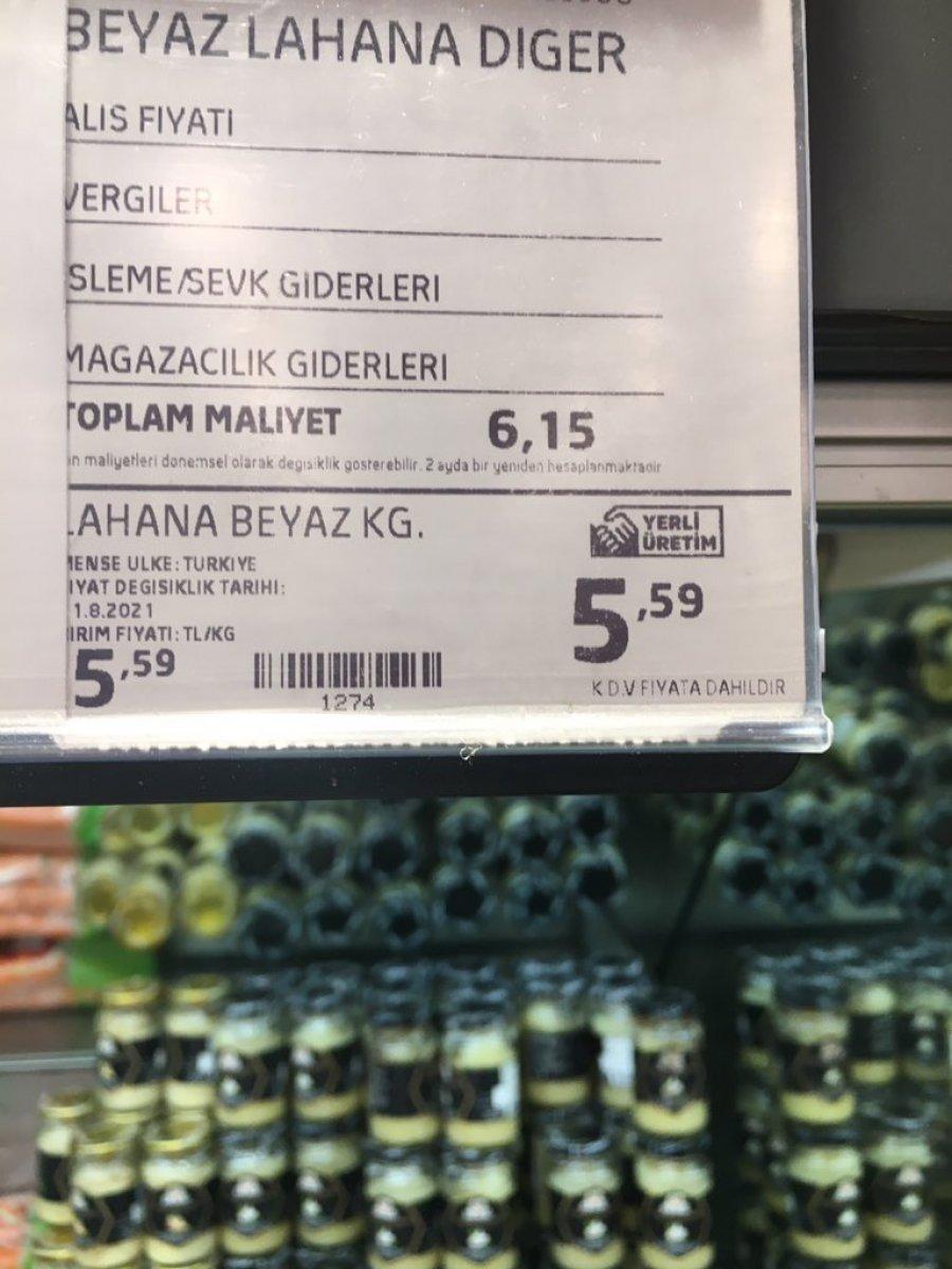 Zincir marketlerde sebzeler toplam maliyetin altına satılıyor iddiası  #1