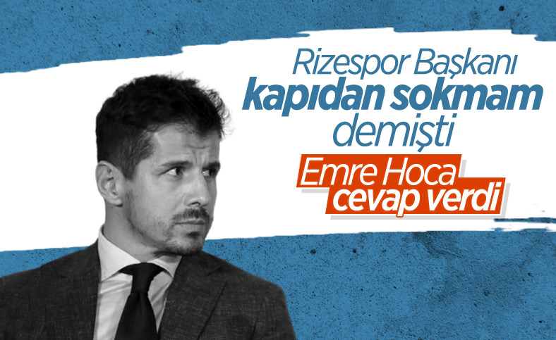 Emre Belözoğlu: Rizespor'u reddettim