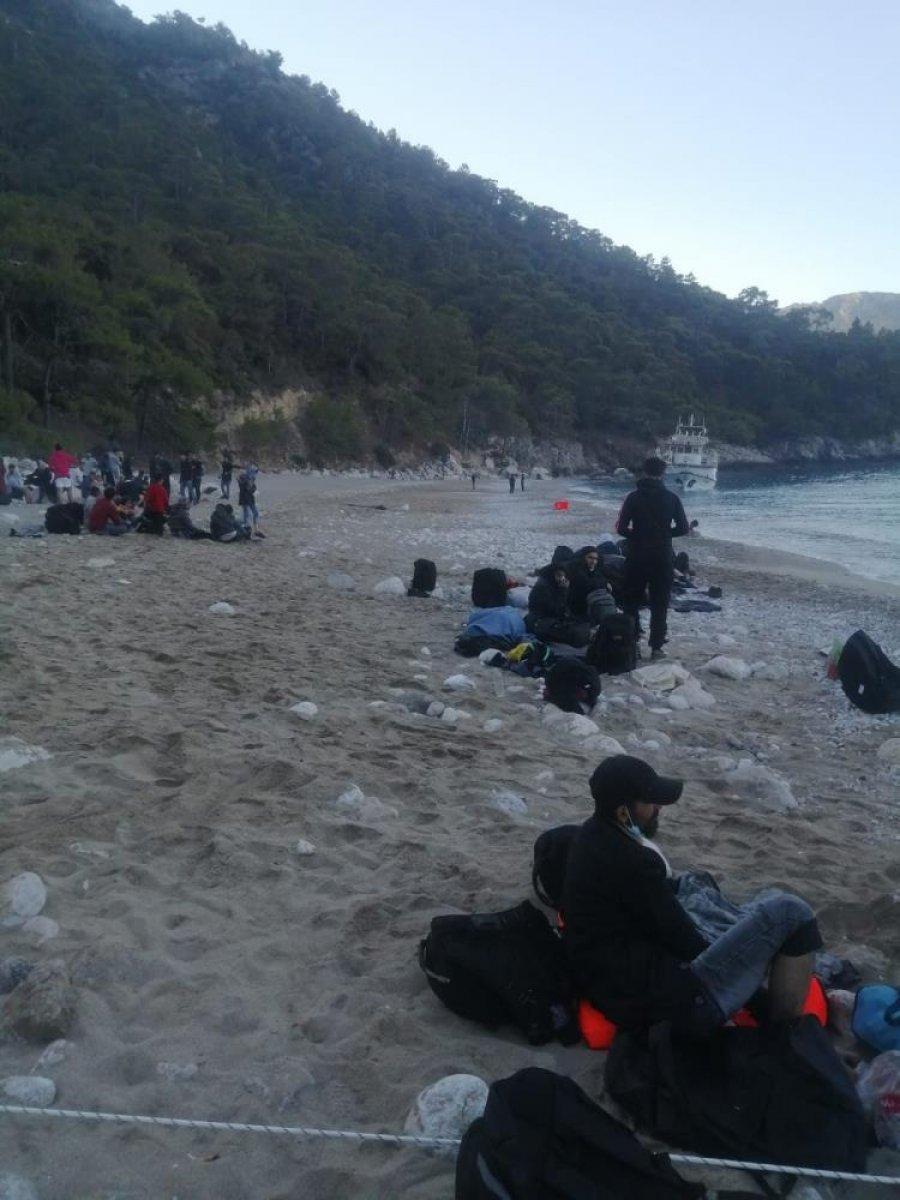 Fethiye de 254 düzensiz göçmenin yakalandı #5