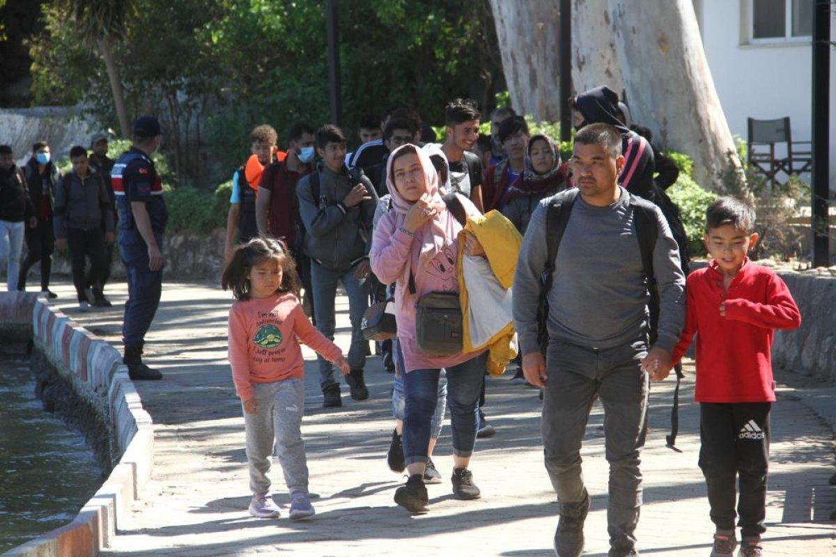 Fethiye de 254 düzensiz göçmenin yakalandı #1