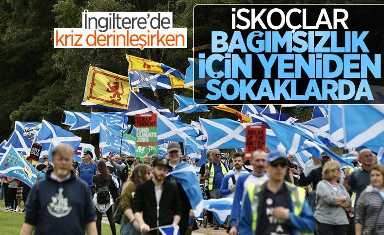 İskoçya'da bağımsızlık yürüyüşü