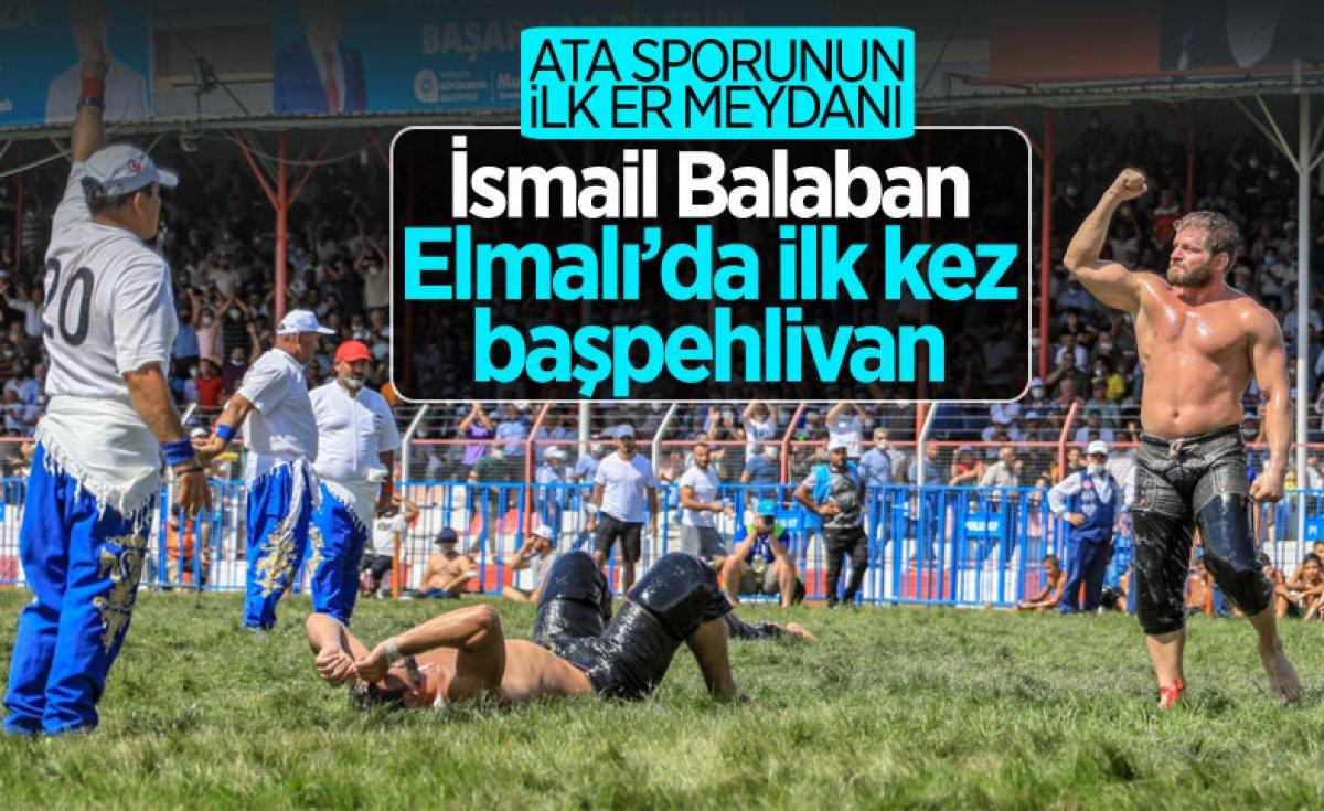 İsmail Balaban, Alaplı Yağlı Güreşleri nde ilk kez başpehlivan oldu #18