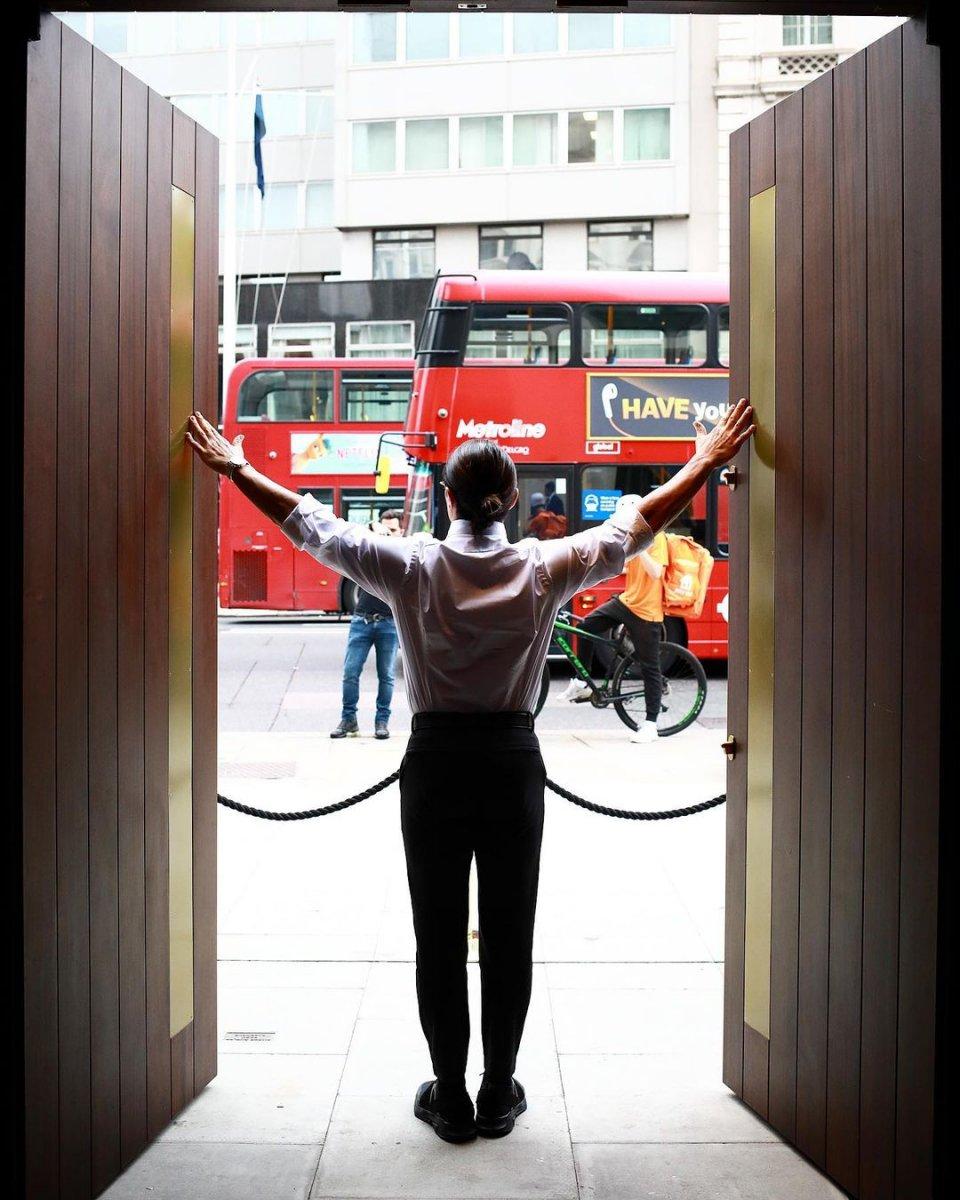 Nusret in Londra daki şubesine akın var #1