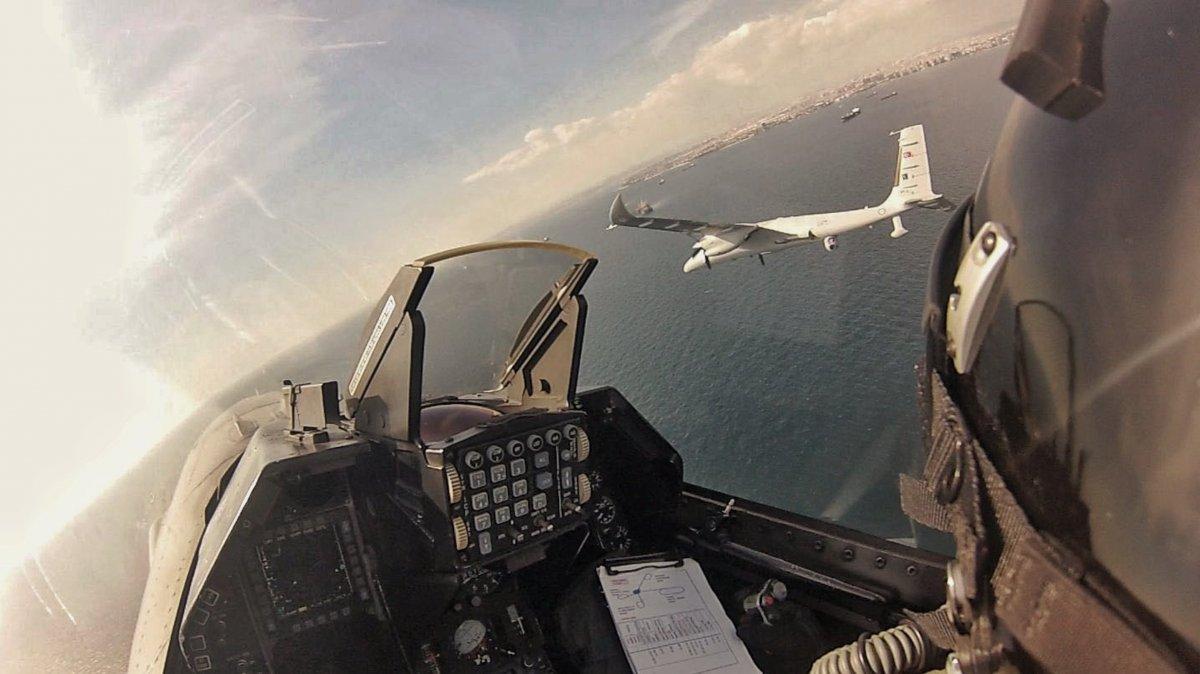 F-16 kokpitinin içinden nefes kesen görüntüler #3
