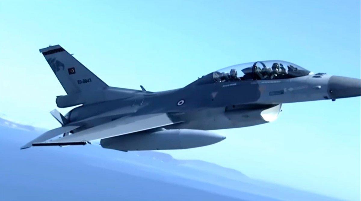 F-16 kokpitinin içinden nefes kesen görüntüler #5