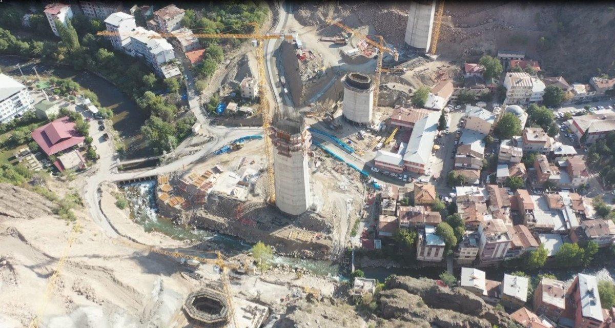 Türkiye'nin en yüksek ayaklı 2 nci viyadüğü  Tekkale  açılıyor #1