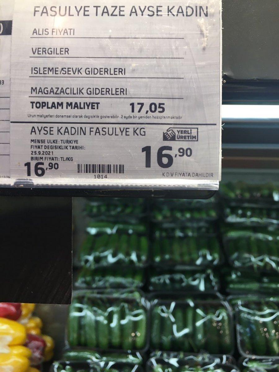 Zincir marketlerde sebzeler toplam maliyetin altına satılıyor iddiası  #4