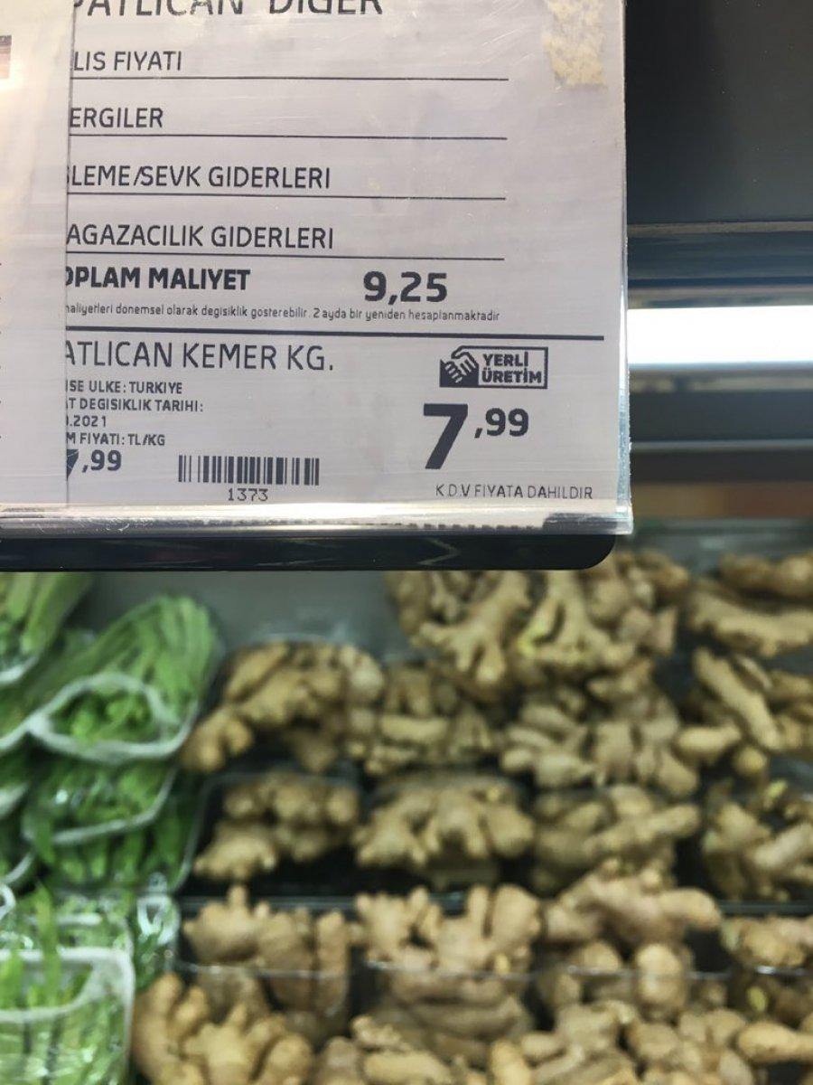Zincir marketlerde sebzeler toplam maliyetin altına satılıyor iddiası  #3