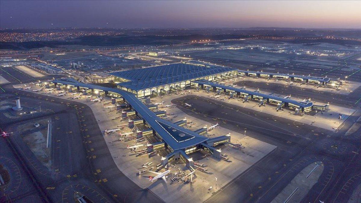 Avrupa nın en yoğun havalimanı sıralamasında İstanbul Havalimanı birinci #1