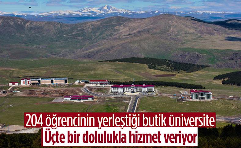 Ardahan Üniversitesi'ne bu yıl 204 öğrenci yerleşti