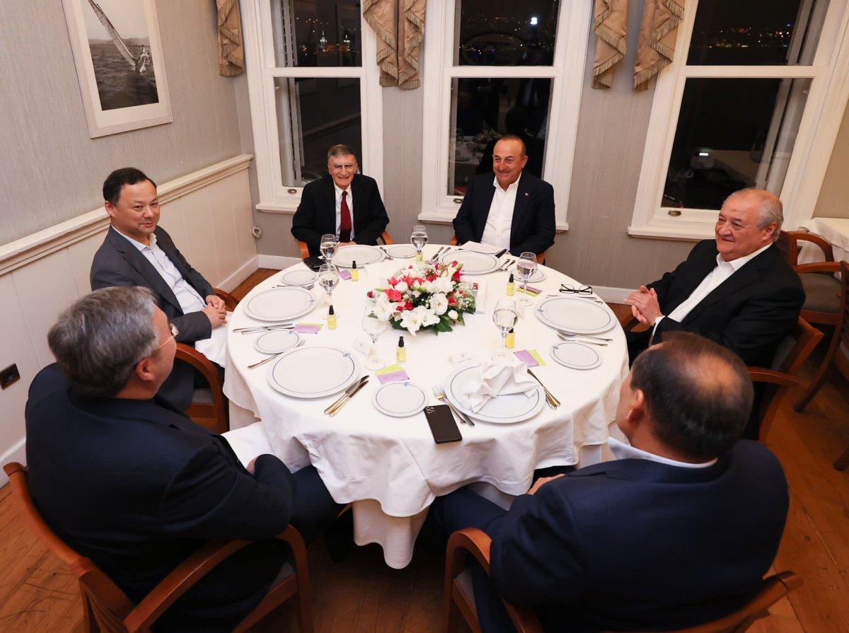 Aziz Sancar, Türk Konseyi dışişleri bakanlarının onur konuğu oldu #3