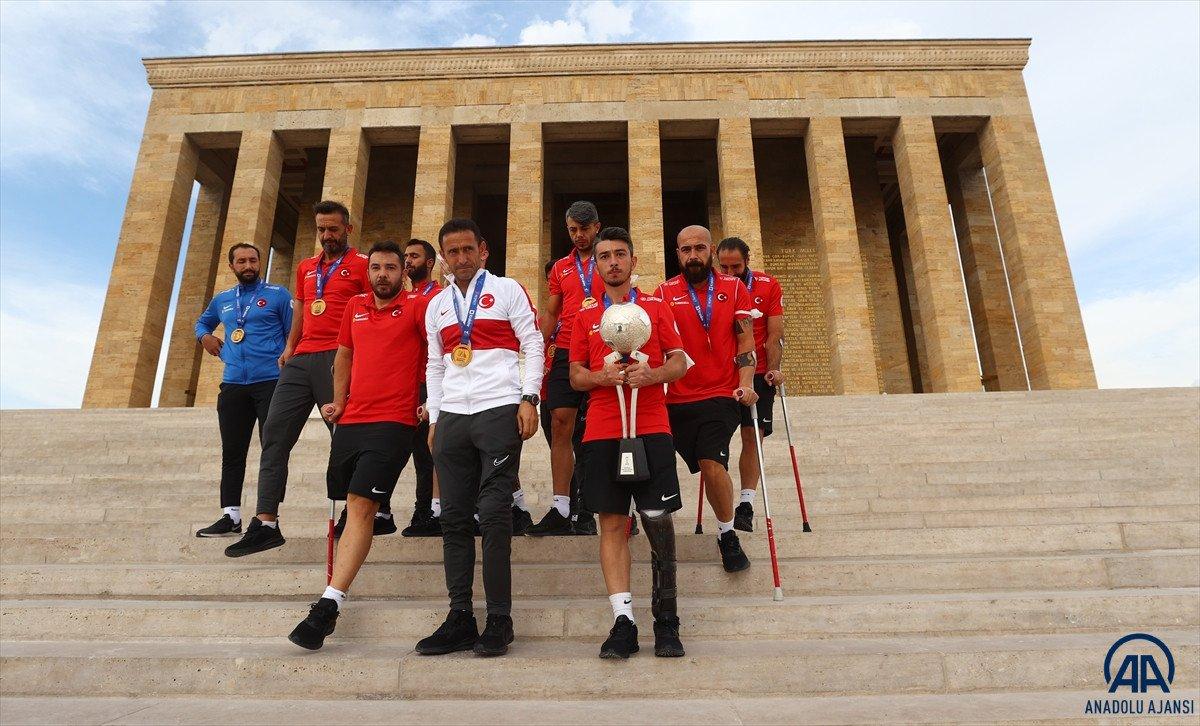 TFF den Ampute Milli Futbol Takımı na 1.5 milyon lira ödül #1