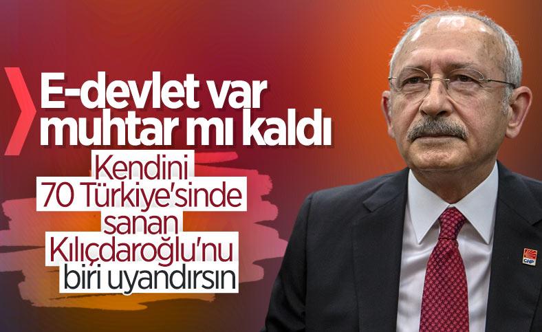 Kemal Kılıçdaroğlu'ndan muhtarlara bütçe talebi