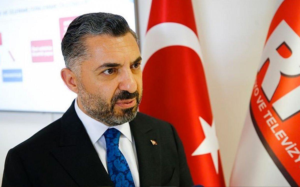 RTÜK Başkanı Ebubekir Şahin: Gündüz kuşağı programlarını kaldırmayı düşünmüyoruz #1