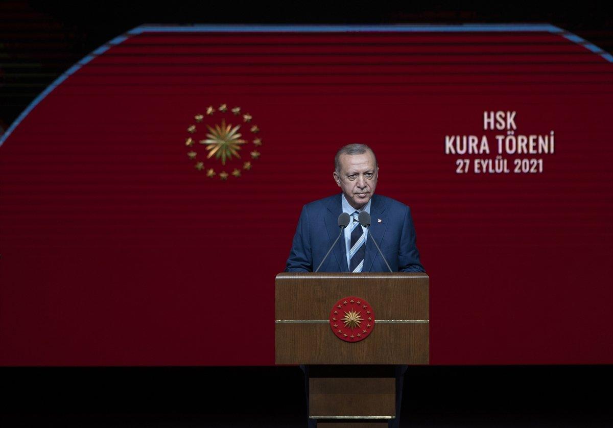 Cumhurbaşkanı Erdoğan, hakim ve savcı kura töreninde konuştu  #1