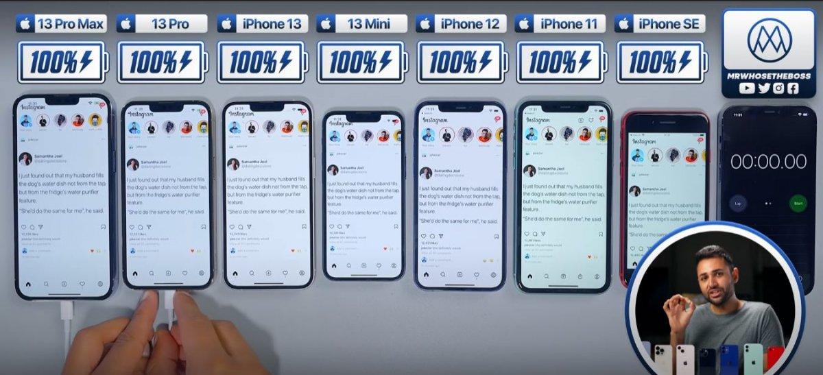 Batarya testi: iPhone 13, 12, 11 ve SE #1