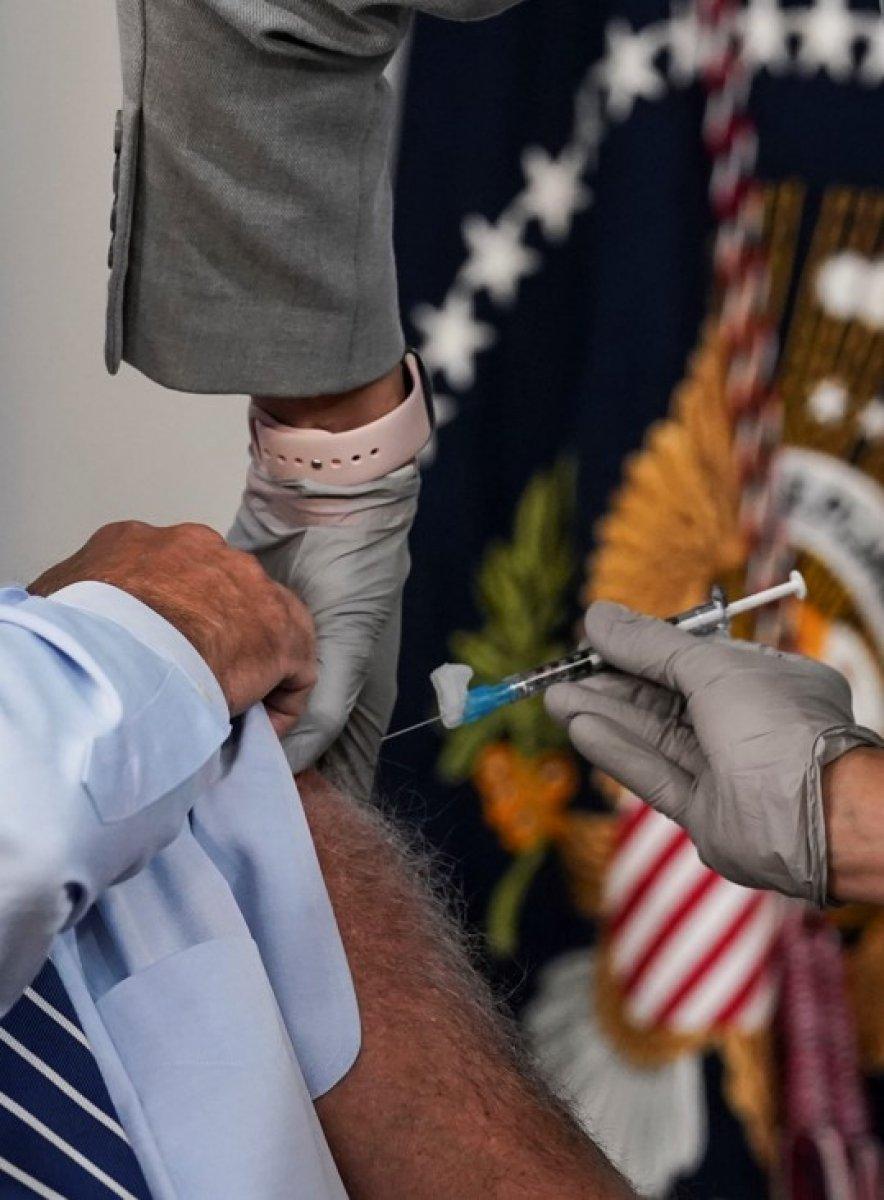 Joe Biden, üçüncü doz Kovid-19 aşısını oldu #3