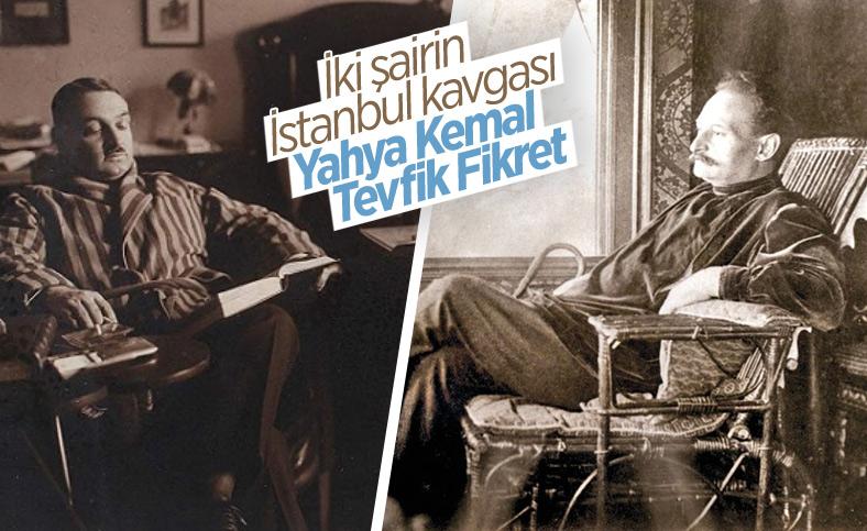 Yahya Kemal ve Tevfik Fikret'in İstanbul tartışmasına şiirle cevapları