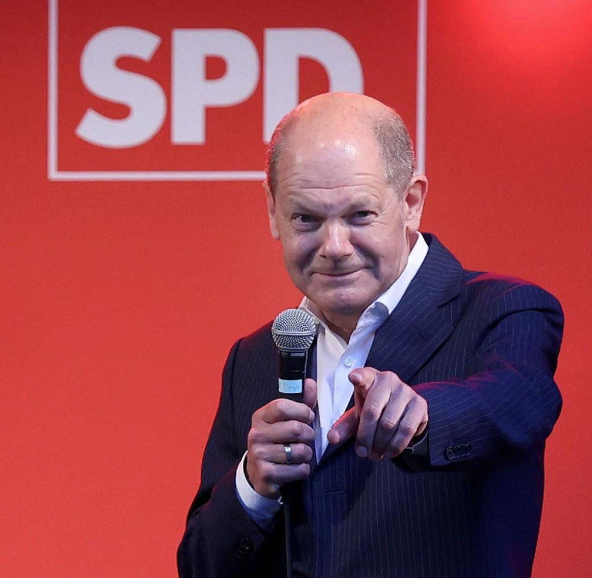 Almanya nın yeni başbakanı Olaf Scholz kimdir? İşte hayatı ve kariyeri... #3