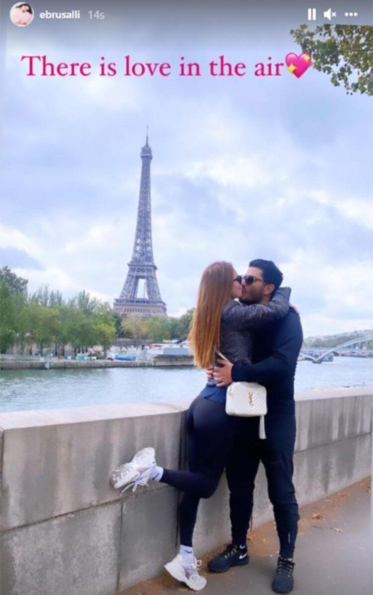 Ebru Şallı ile Uğur Akkuş Paris te #2
