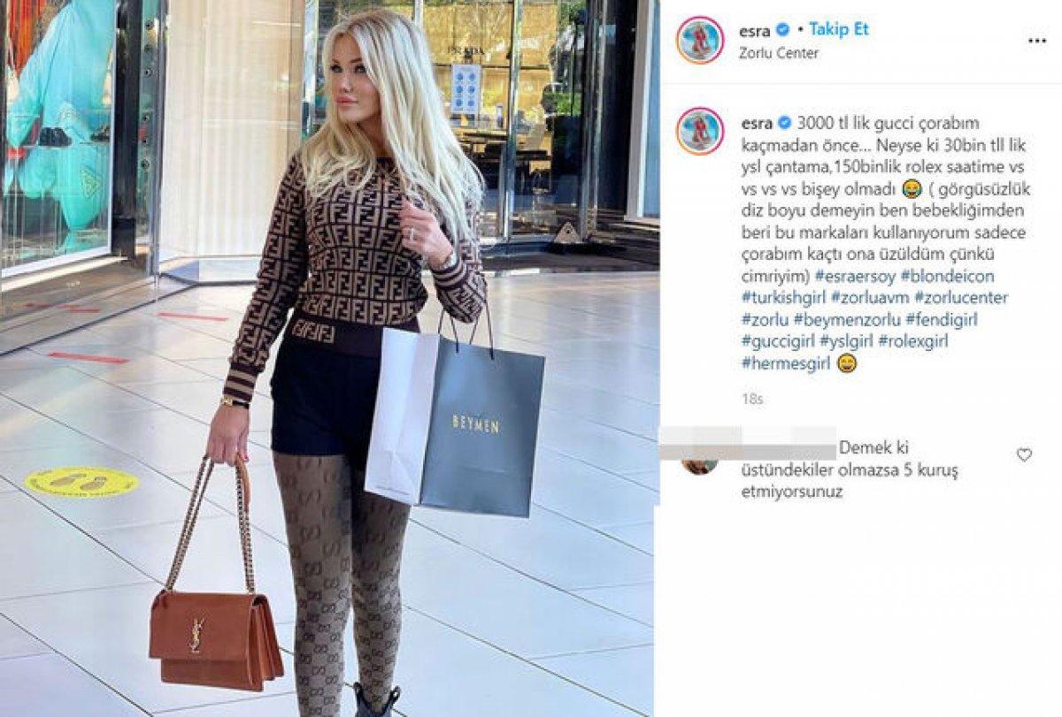Ciciş Esra Ersoy kıyafetine 183 bin TL harcadı #1