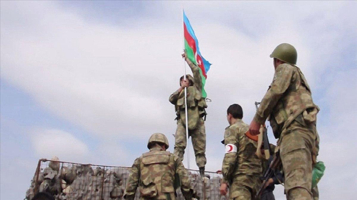 Azerbaycan ordusu, bir yıl önce 30 yıllık işgali sonlandırdı #2