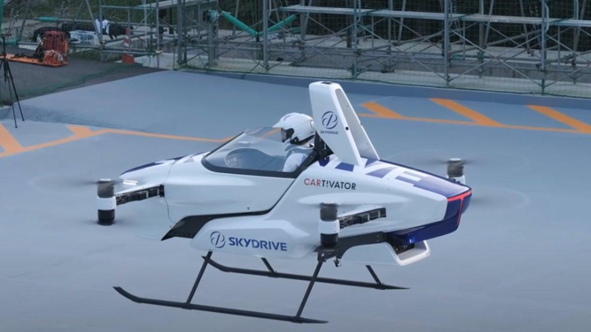 Elektrikli uçan taksi SkyDrive SD-03, 2025te havalanacak