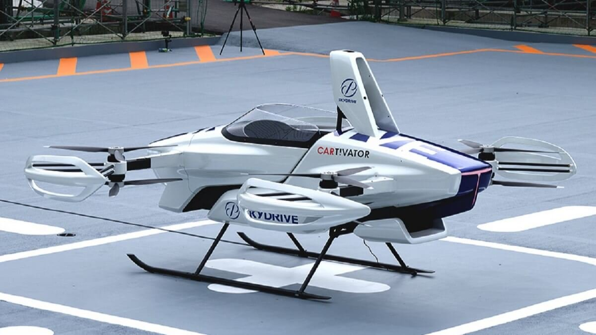 Elektrikli uçan taksi SkyDrive SD-03, 2025 te havalanacak #1