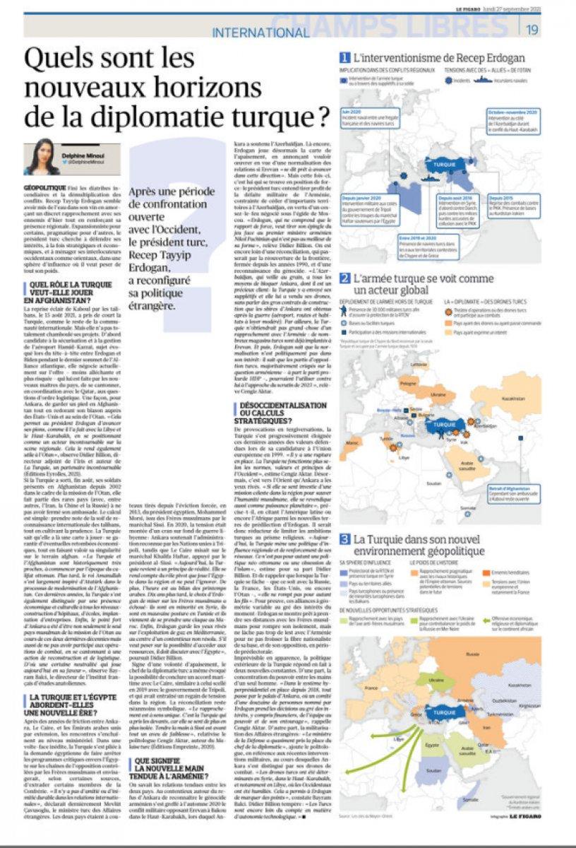 Fransız Le Figaro dan Türkiye için dış politika analizi #3