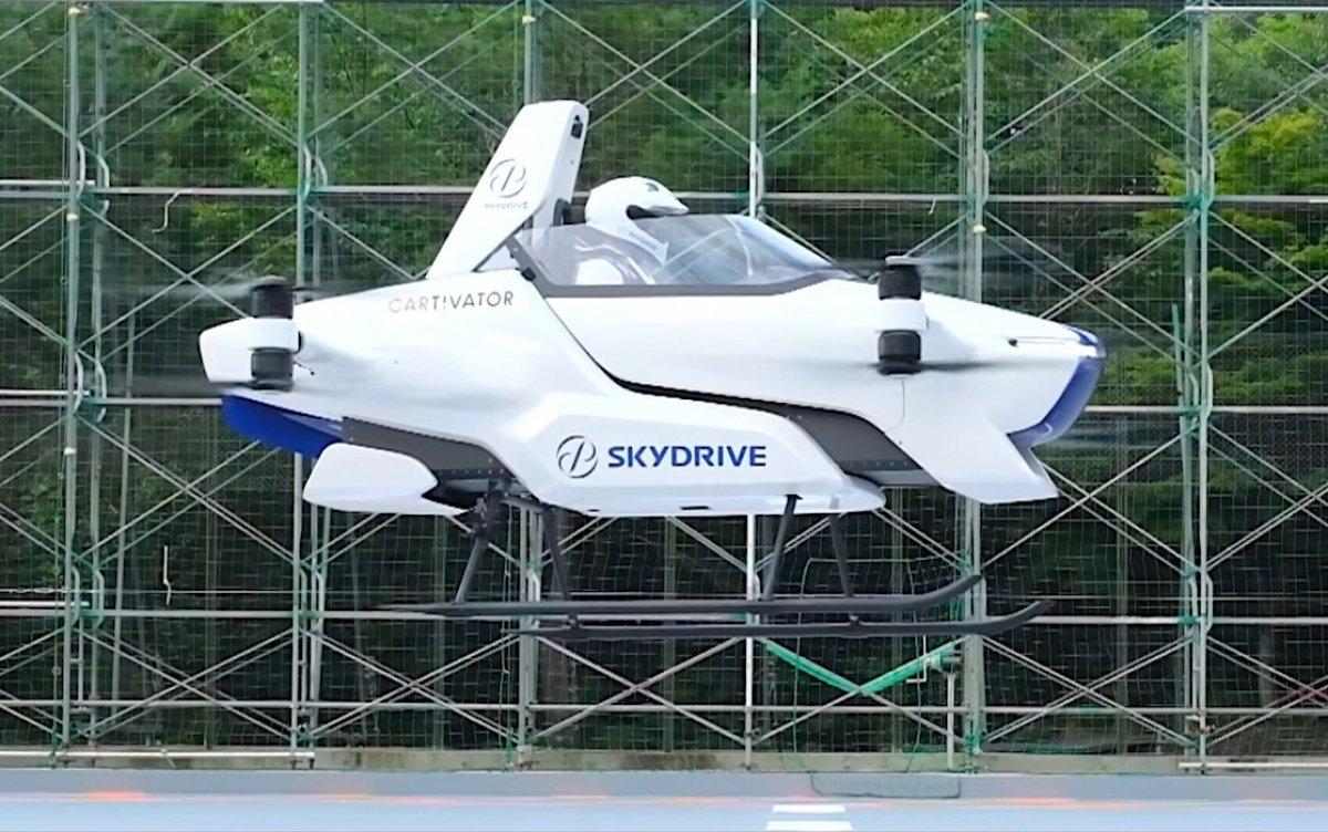 Elektrikli uçan taksi SkyDrive SD-03, 2025 te havalanacak #3