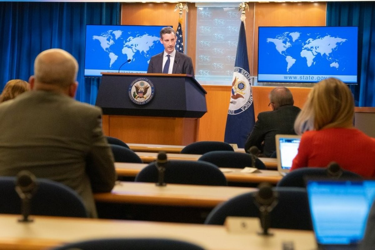 ABD Dışişleri Bakanlığı Sözcüsü Price, Kovid-19 a yakalandı #2