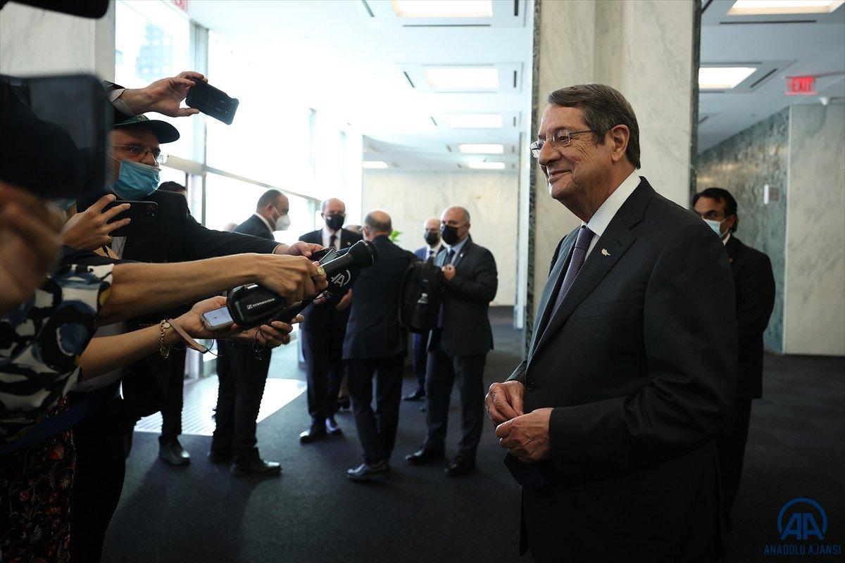 Anastasiadis ve Tatar dan Kıbrıs ta iki devletli çözüm açıklamaları #10