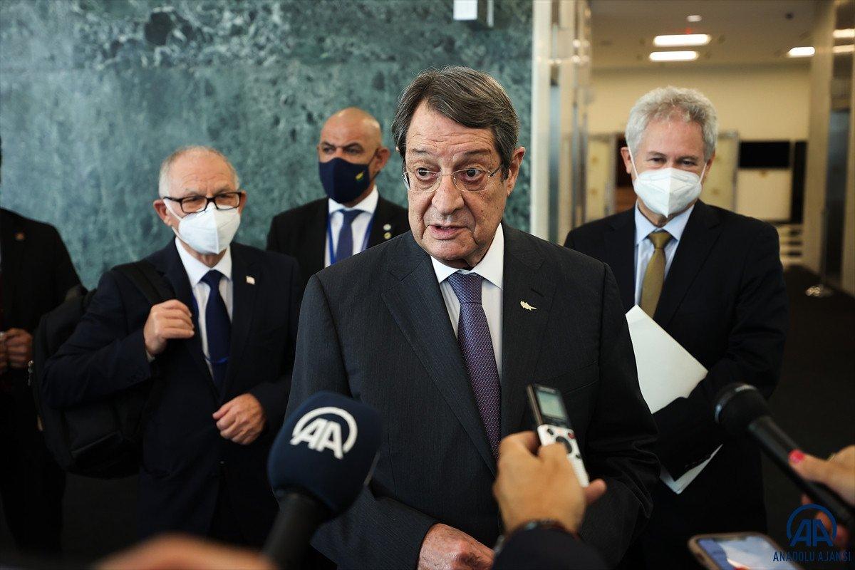 Anastasiadis ve Tatar dan Kıbrıs ta iki devletli çözüm açıklamaları #1