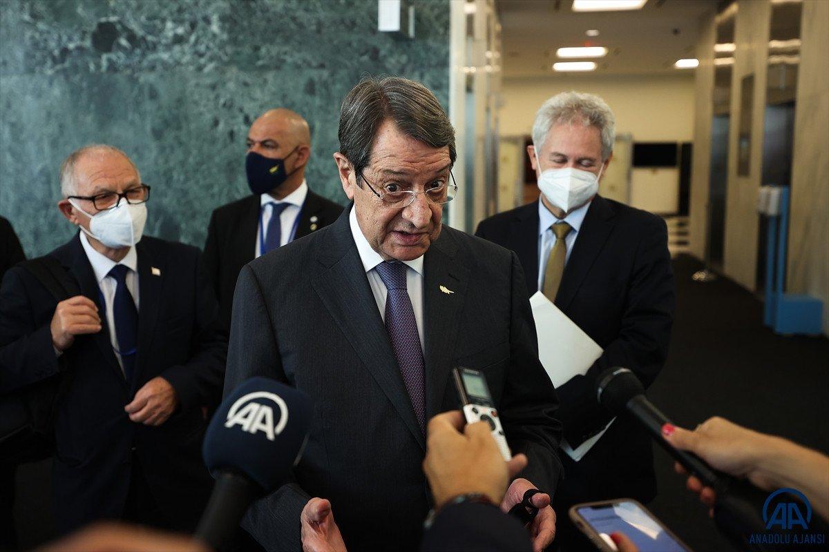 Anastasiadis ve Tatar dan Kıbrıs ta iki devletli çözüm açıklamaları #12