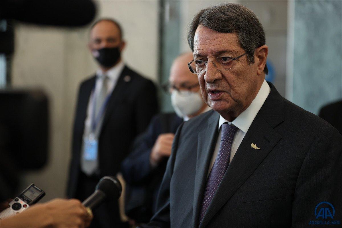Anastasiadis ve Tatar dan Kıbrıs ta iki devletli çözüm açıklamaları #14