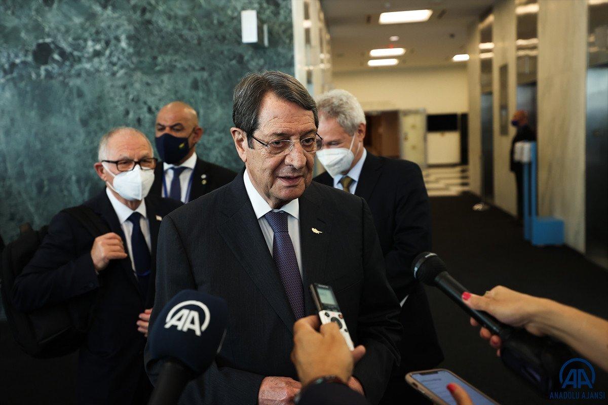 Anastasiadis ve Tatar dan Kıbrıs ta iki devletli çözüm açıklamaları #11