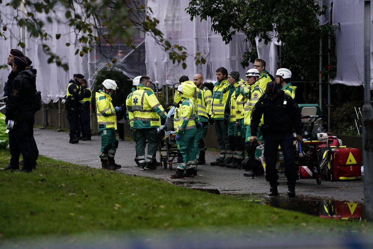 İsveç te bir apartmanda patlama: 25 yaralı #3