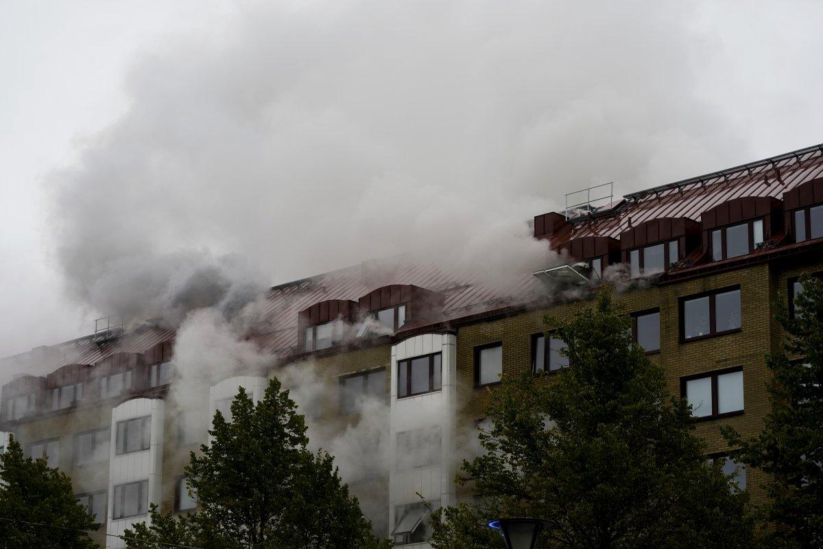 İsveç te bir apartmanda patlama: 25 yaralı #1