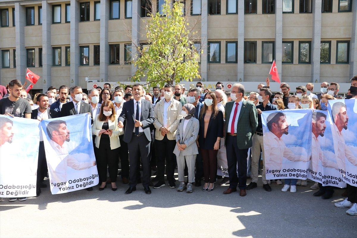 CHP Denizli Gençlik Kolları Başkanı Tugay Odabaşıoğlu, gözaltına alındı #2