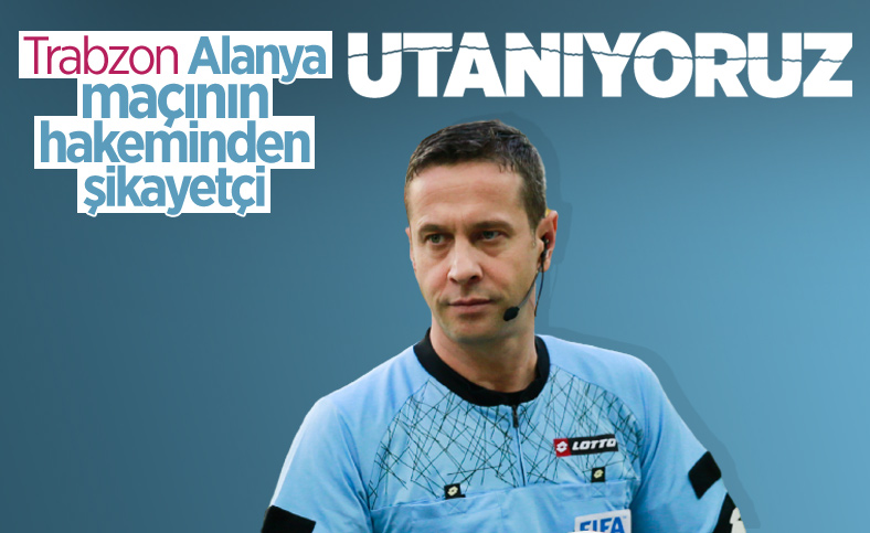 Trabzonspor'dan TFF'ye Halis Özkahya tepkisi
