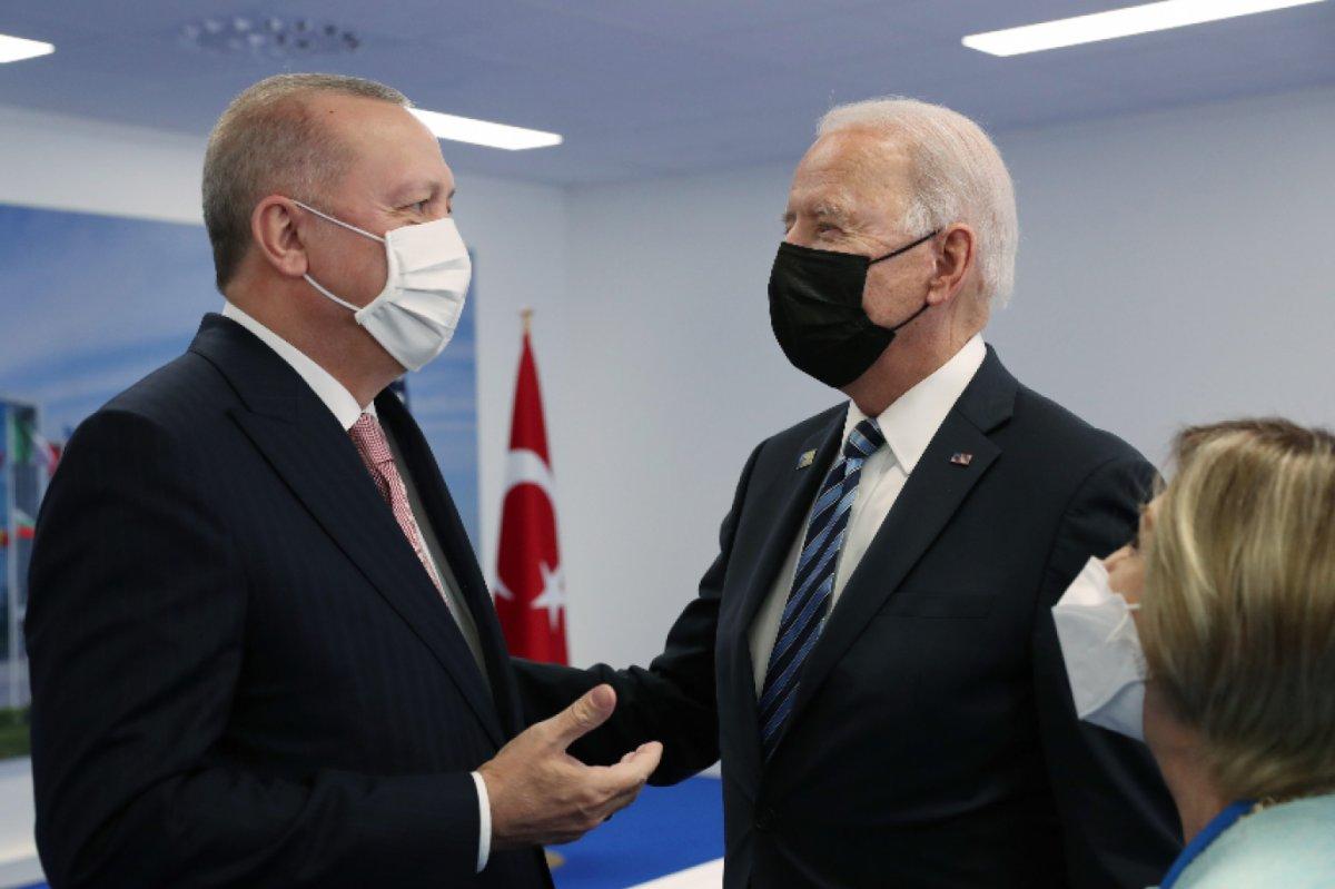 Cumhurbaşkanı Erdoğan, Joe Biden ile görüşecek #2