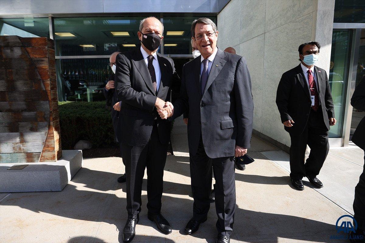 Anastasiadis ve Tatar dan Kıbrıs ta iki devletli çözüm açıklamaları #9