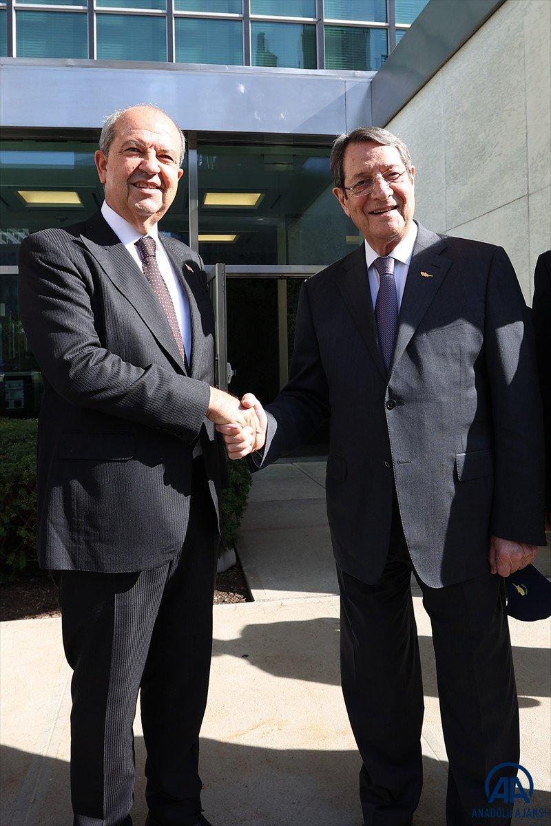 Anastasiadis ve Tatar dan Kıbrıs ta iki devletli çözüm açıklamaları #7