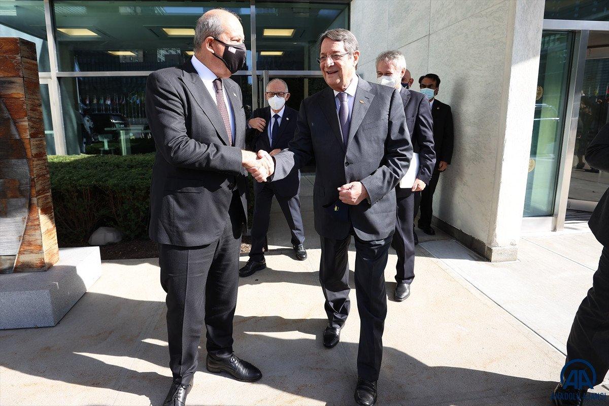 Anastasiadis ve Tatar dan Kıbrıs ta iki devletli çözüm açıklamaları #8